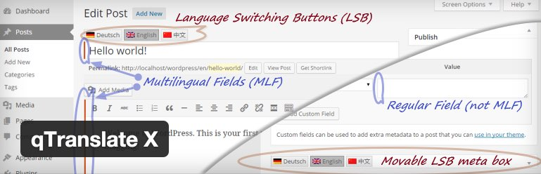 WordPress › qTranslate X « WordPress Plugins